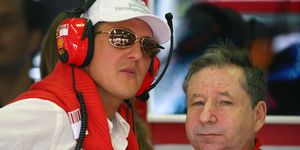 Jean Todt and Michael Schumacher teamed for much of Schumacher's successful runs with Ferrari.