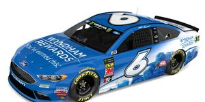 Matt Kenseth will share the No. 6 Roush Racing Ford with Trevor Bayne for the remainder of the 2018 season.