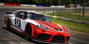 The new NASCAR Toyota Supra was tested at Hickory Motor Speedway in North Carolina, the kind of track many fans want the sport to return to.