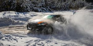 There were no shortage of challenges for the drivers in the ARA Sno*Drift Rally.