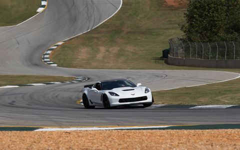 Thanks to impressive aerodynamics, the Z06 remains stable and under control even through the most challenging corners.