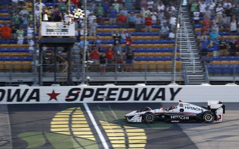 Sights from the IndyCar Series Iowa Corn 300 at Iowa Speedway, Sunday, June 9, 2017.