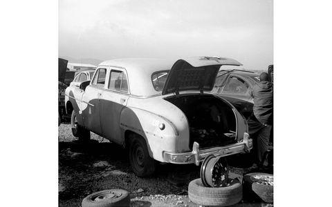 Not rusty, but few seem to love 1940s Chrysler sedans.