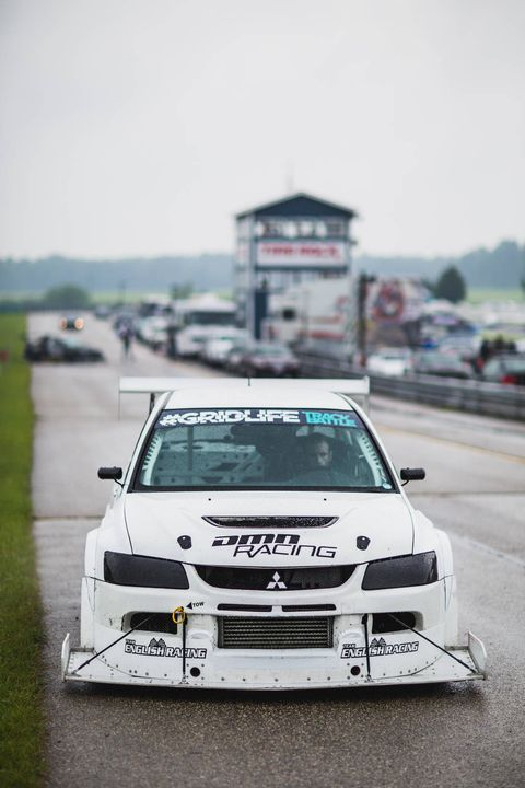 Michael Puglisi took home top honors in Track Modified in his home built DMN Racing Mitsubishi Evo. Michael also reset the Track Modified AWD record over the weekend with a 1:33.727.