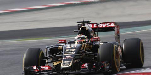 Pastor Maldonado has been consistently fast for Lotus during Formula One preseason testing.