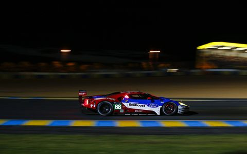 Ford returns to the 24 Hours of Le Mans 50 years after it swept the podium to win again.