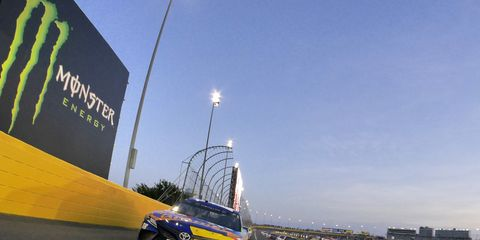 NASCAR's All-Star Race produced only two green flag passes for the lead.