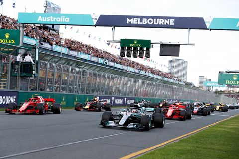 Sights from the Formula 1 action at the Australian Grand Prix Sunday, March 25 2018.