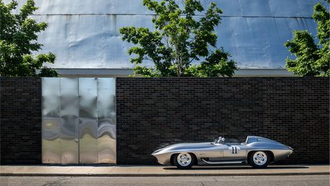 This Sting Ray is a 60-year-old championship winner with a Chevy small block that was one of the first engines to surpass the hallowed 1-hp-per-cube barrier.