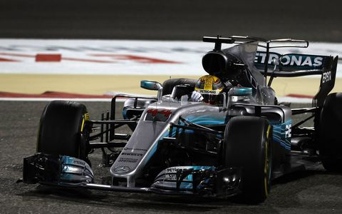 Ferrari's Sebastian Vettel took his second victory of the F1 season in Bahrain Sunday as Mercedes' Lewis Hamilton recovered from a poor start and a penalty to finish in second place ahead of team-mate Valtteri Bottas.