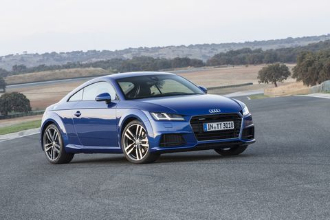 The 2016 Audi TT and TTS shed weight compared to the current cars thanks to the Volkswagen Group's MQB architecture.