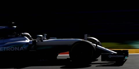 Lewis Hamilton will have to overcome several grid penalties if he wants to finish on the podium at Spa.