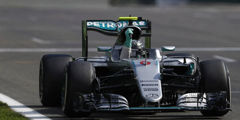 Mercedes driver Nico Rosberg could not be stopped Sunday in the Belgian Grand Prx.