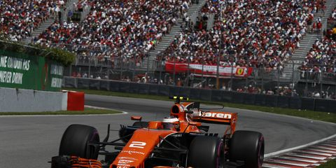 The McLaren MCL32 could receive a performance boost from Honda this week.