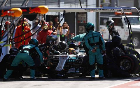 Sights from the Italian Grand Prix at Monza  Sunday, Sept. 3, 2017