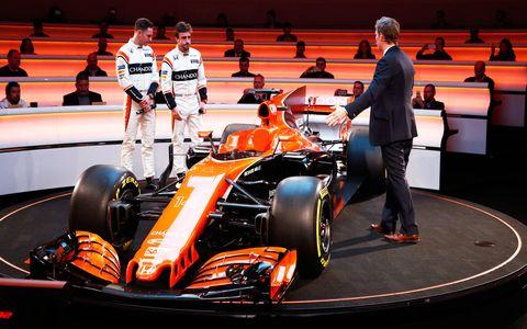 McLaren-Honda unveiled its 2017 Formula 1 challenger on Friday.