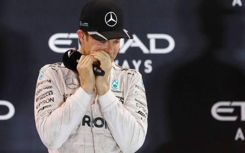Nico Rosberg captures his first Formula 1 championship with a second-place finish in Abu Dhabi. Mercedes teammate Lewis Hamilton won the race and finishes second in the championship.