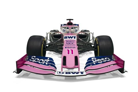 The SportPesa Racing Point Formula 1 Team's livery for its 2019 car was unveiled today in Canada.