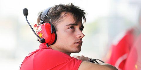 Charles Leclerc represents the future of Ferrari in Formula 1.