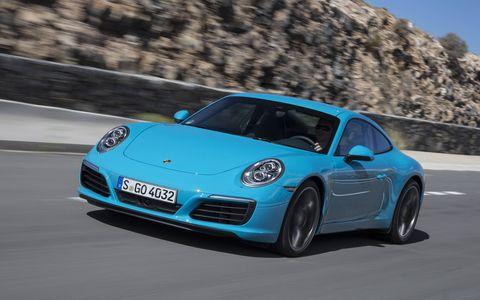 2017 Porsche 911 Carrera S Coupe in Miami Blue
