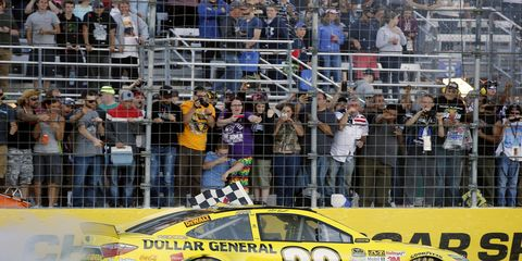 Matt Kenseth won Sunday afternoon's NASCAR Sprint Cup race in New Hampshire.
