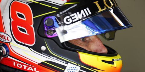 Romain Grosjean is looking forward to running for an American team in Formula One.