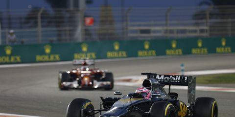 Jenson Button's future in Formula One is uncertain.