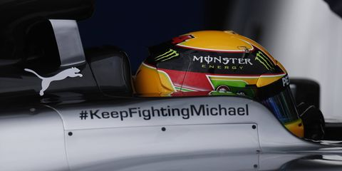 In a letter of thanks in the German Grand Prix Program, Michael Schumacher's wife thanked fans and said that the worst was over in Schumacher's fight.