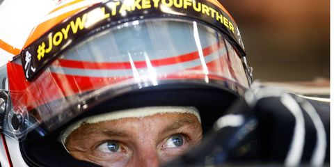 Jenson Button has scored just six points this season and is 18th in the F1 driver standings.