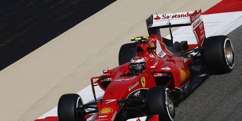 Kimi Raikkonen says his future with Ferrari is up to the Italian team.