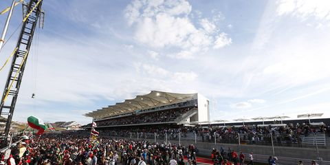 The Circuit of the Americas will play host to the United States Grand Prix this weekend.