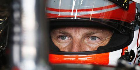 Burglars broke into Jenson Button's holiday villa during the summer break.
