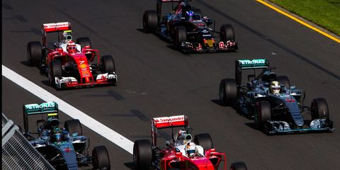 Mercedes boss Toto Wolff says that rivals have caught up to Mercedes.