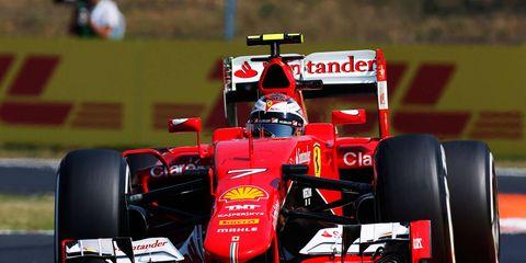 Kimi Raikkonen is fifth in the Formula One points championship.