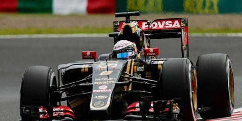 Romain Grosjean is leaving Lotus for the American-based Haas F1 Team following the 2015 season.