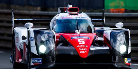 The No. 5 Toyota TS050 Hybrid was five minutes shy of victory at the 24 Hours of Le Mans.