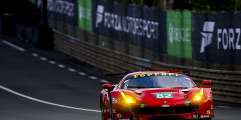 Ferrari's Giancarlo Fisichella is one of several drivers who will make his Lime Rock Park debut this weekend.