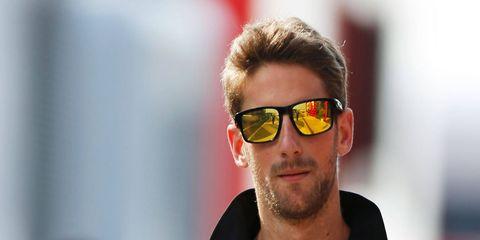 F1 veteran Romain Grosjean has 10 podium finishes in five years in the series.