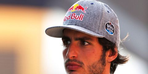 Carlos Sainz Jr. believes a pecking order is developing at Toro Rosso.