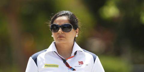 Sauber's Monisha Kaltenborn struck back at Niki Lauda, who criticized her team.