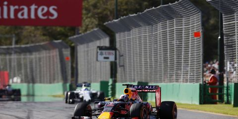 """Daniel Ricciardo finished in sixth place on Sunday, but overall said that he felt for the fans and that the Australian Grand Prix was """"a boring race."""""""