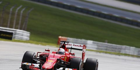 Despite winning the Malaysian Grand Prix, Sebastian Vettel is staying grounded when it comes to Ferrari's prospects for the rest of the season.