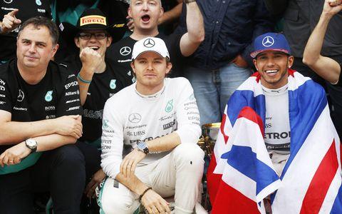 Lewis Hamilton won the United States Grand Prix in Austin, clinching his third World Championship.