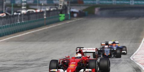 Sebastian Vettel and Ferrari are shaping up to be able to compete with Mercedes this season.