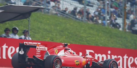Kimi Raikkonen called out a reporter for writing that Ferrari wants to cut his pay by 25 percent.