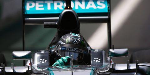 Nico Rosberg hopes to finish the F1 season with three straight wins.