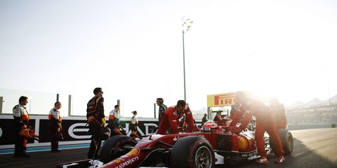 Ferrari is hard at work developing its car for 2015.