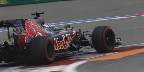 Max Verstappen was recently promoted to Red Bull Racing from Toro Rosso.