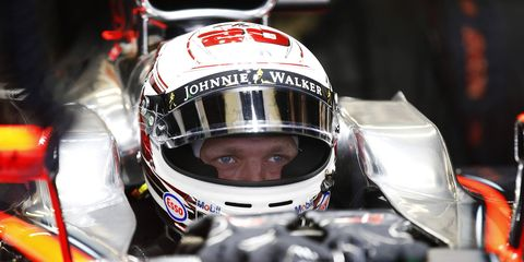 McLaren-Honda test driver Kevin Magnussen may be on the short list for a vacant seat at Manor Marussia F1.