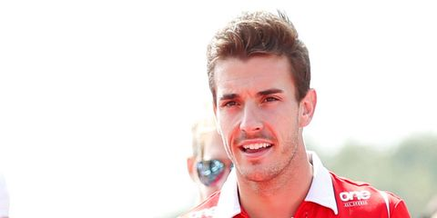 Jules Bianchi was severely injured when his car ran off a slick track in Suzuka, Japan, and hit a crane.